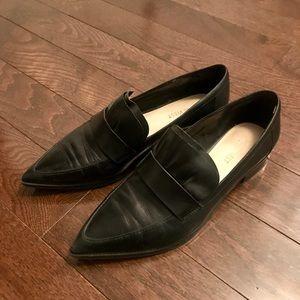 Nine West Pointed Toe Black Loafer